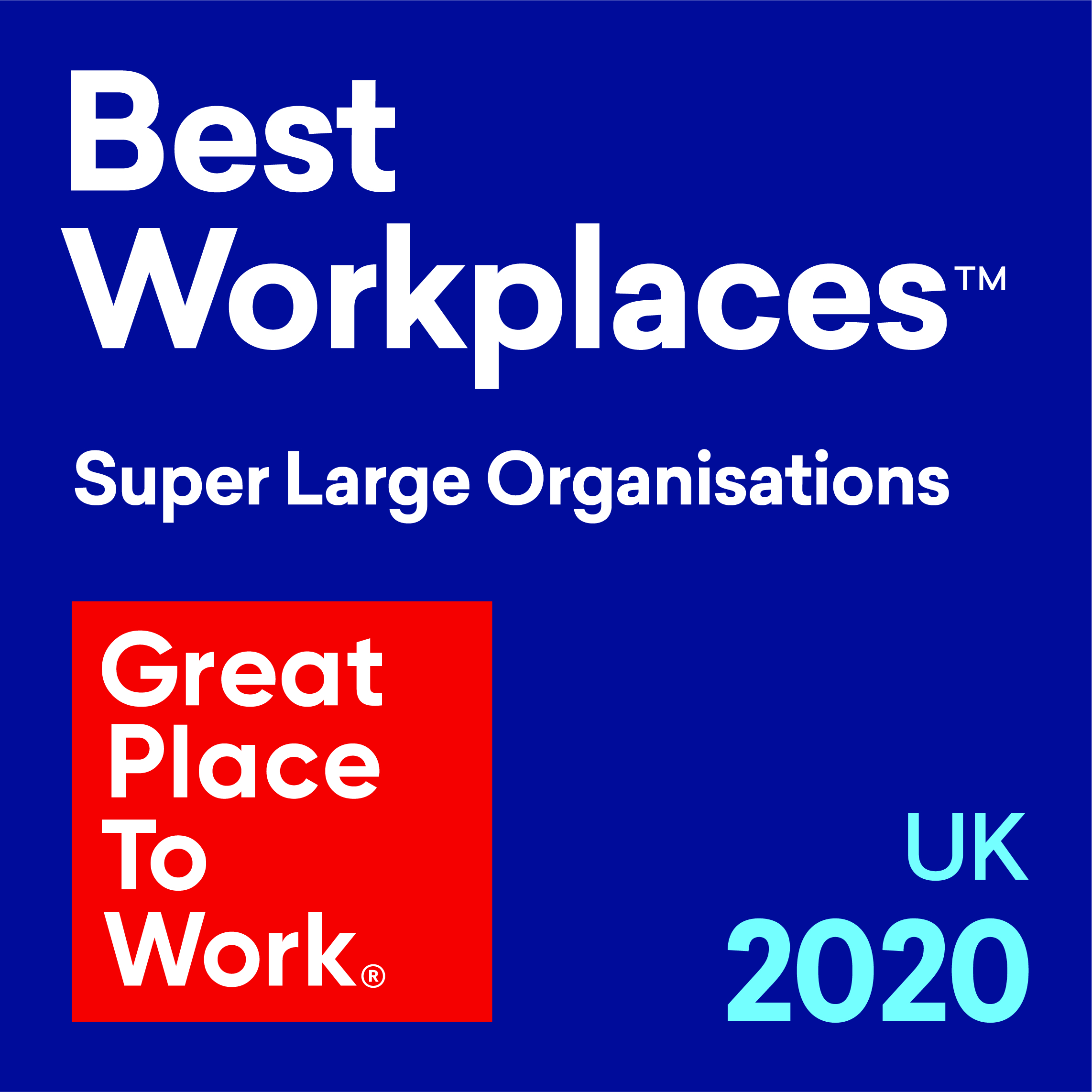 Best Workplaces Supler Large Organisations 2020