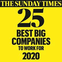 Sunday Times 30 best companies to work for 2017